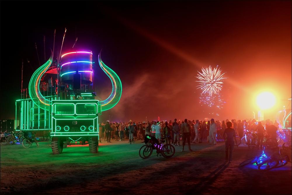 Burning Man - Rave