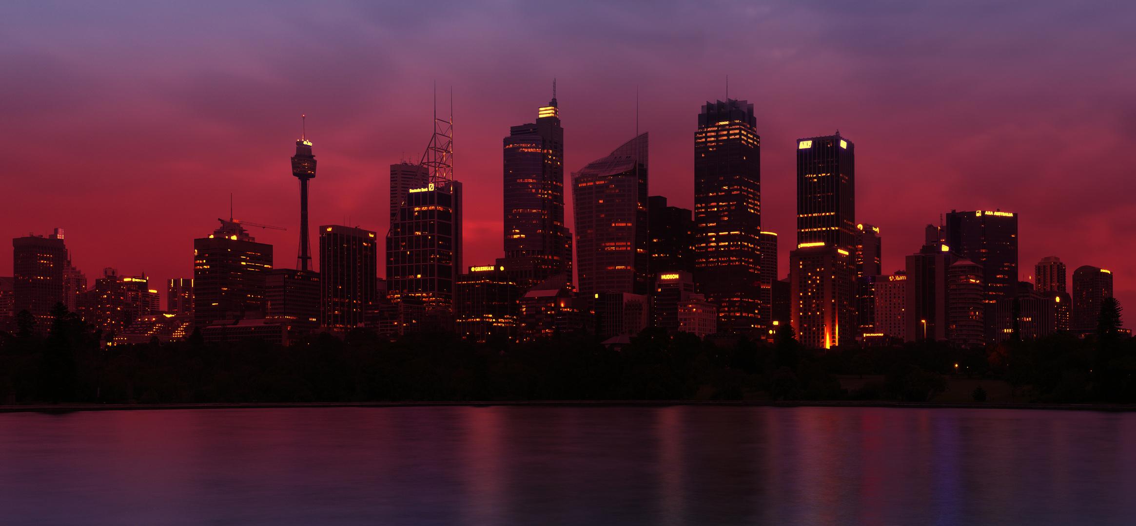 """Burning Skyline """"Sydney"""""""