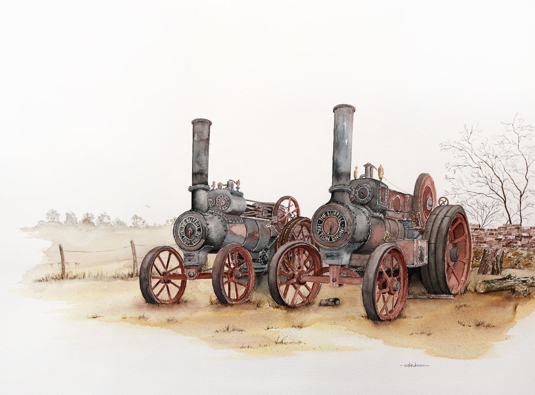 Burrell Lokomobile