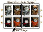 Burzelrätselspaß für Elly