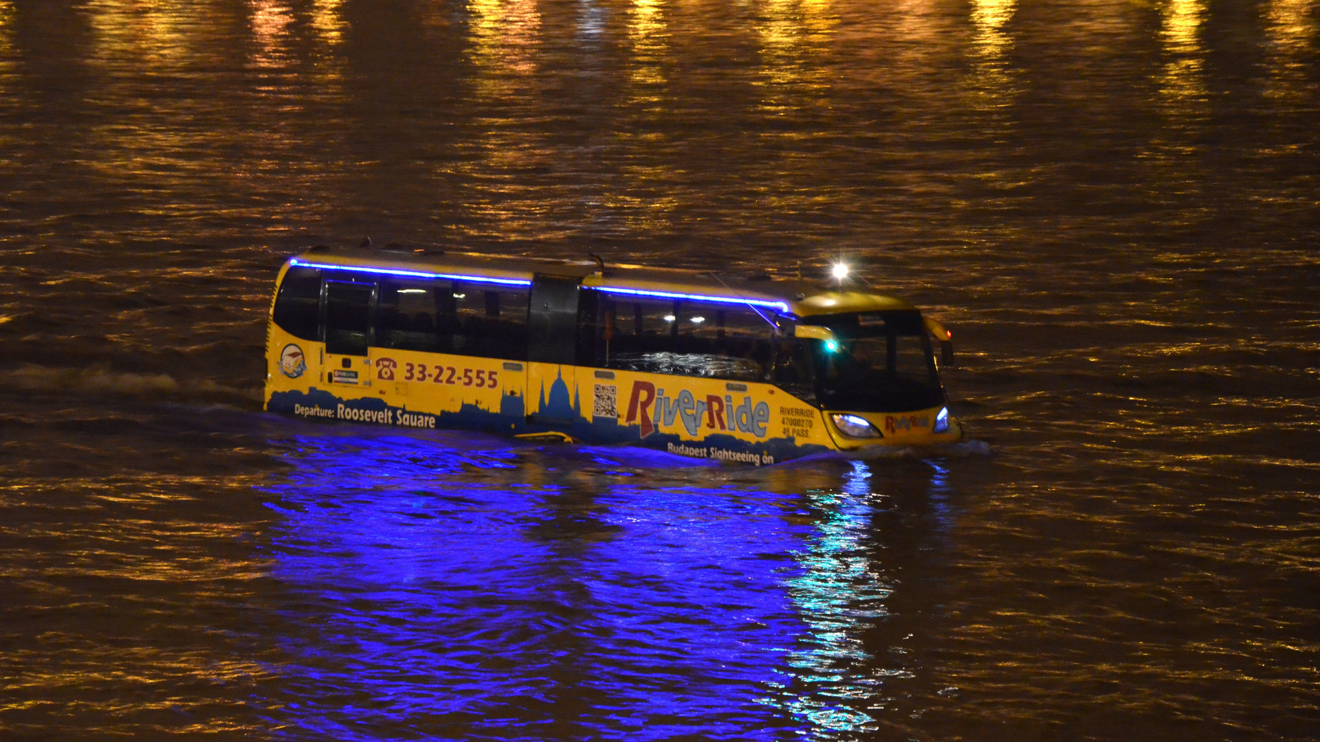 Bus auf Abwegen