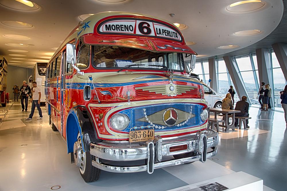 Bus aus Buenos Aires