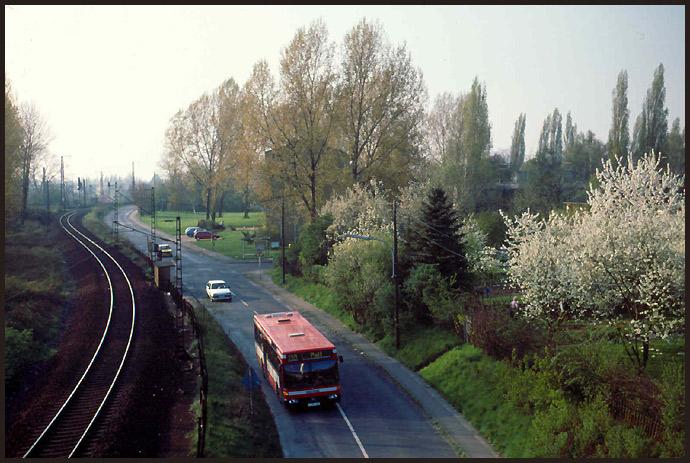 Bus & Bahngleis