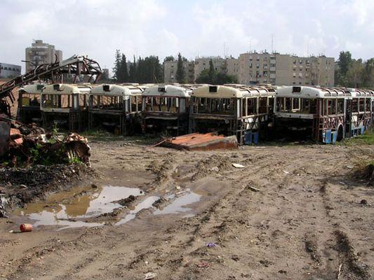 Bus cemetery