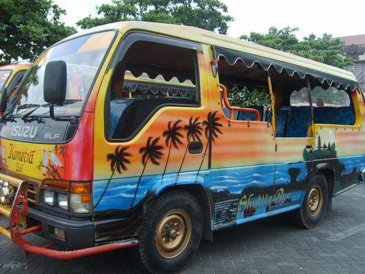 bus coloré