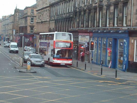 Bus Ecossais a deux étages