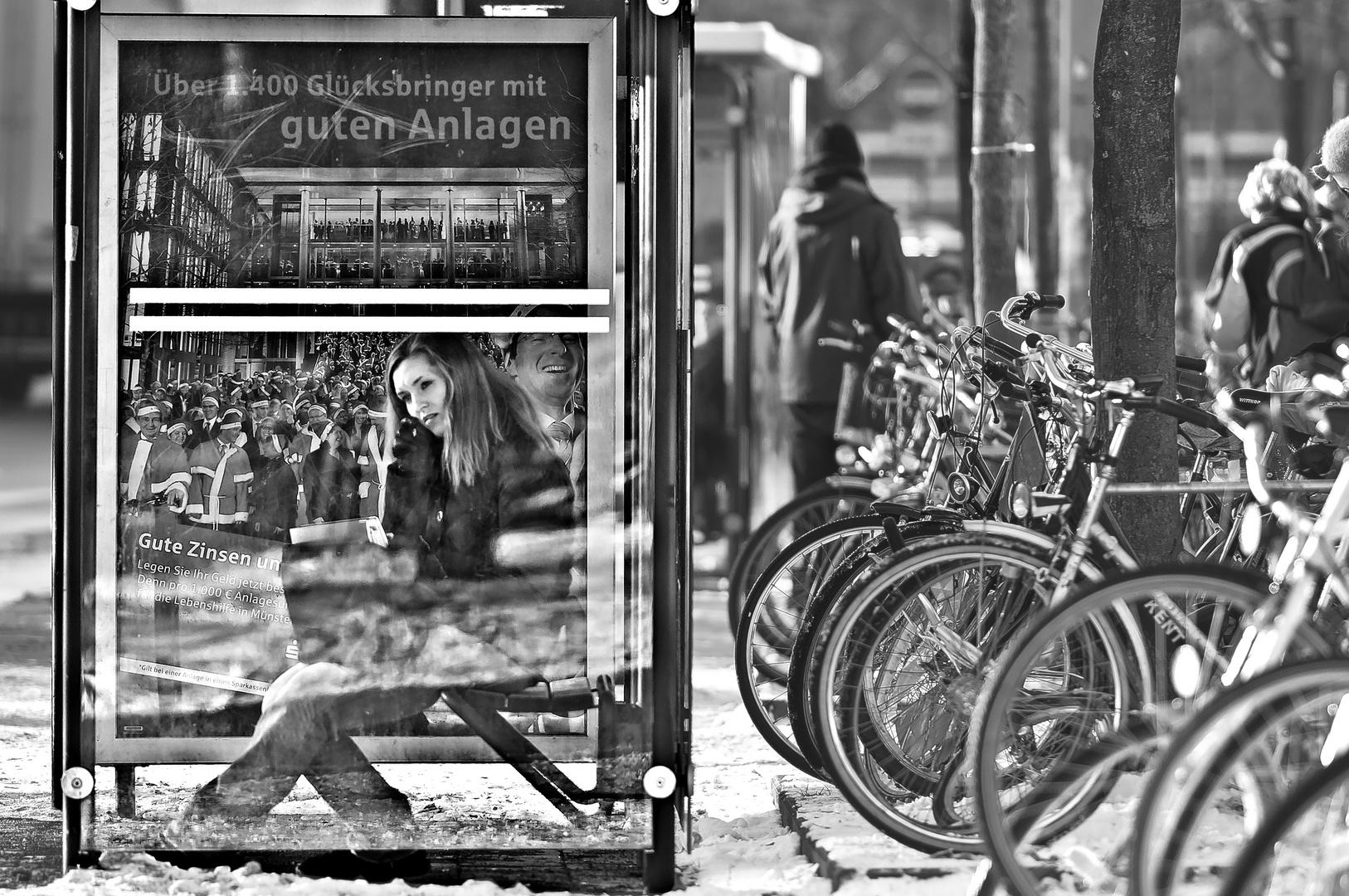 Bus-Haltestelle