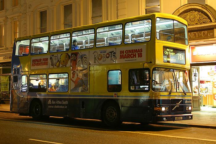 Bus in Dublin