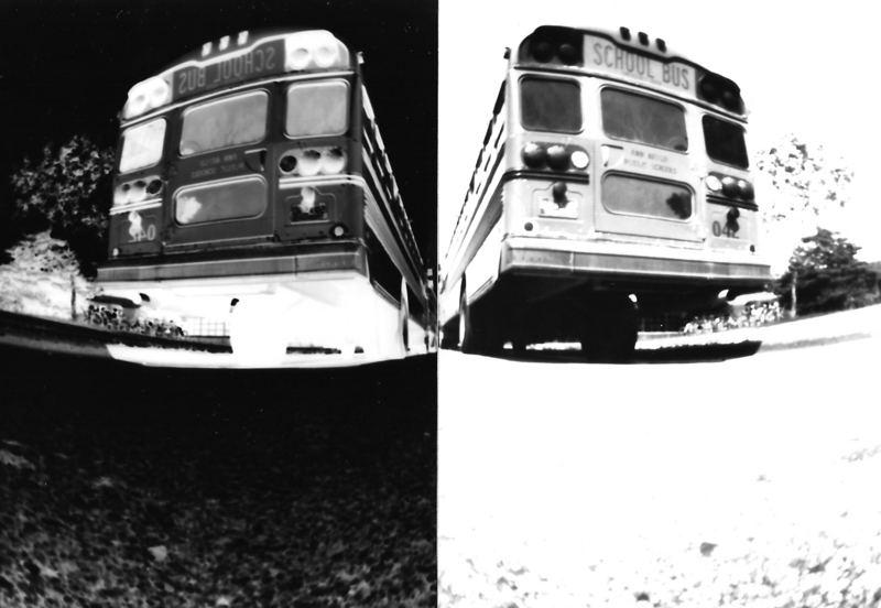 Bus in Gelb