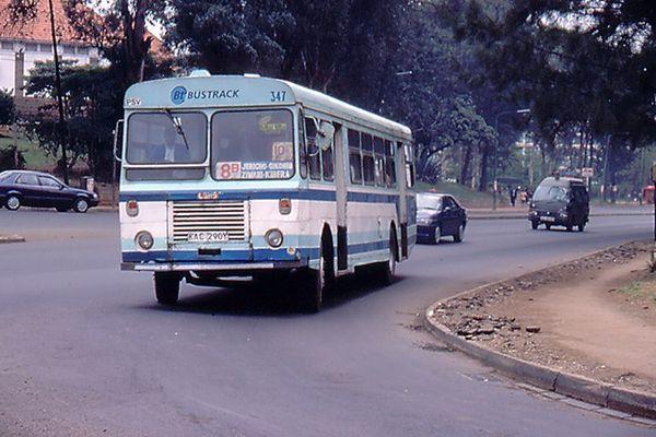 Bus in Nairobi