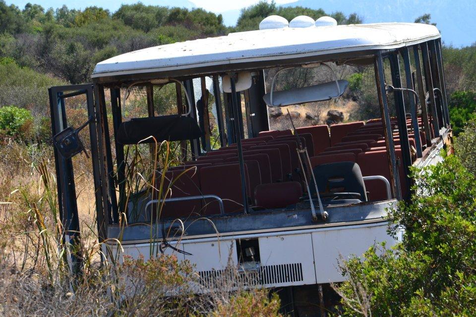 Bus mitten im Nirgendwo