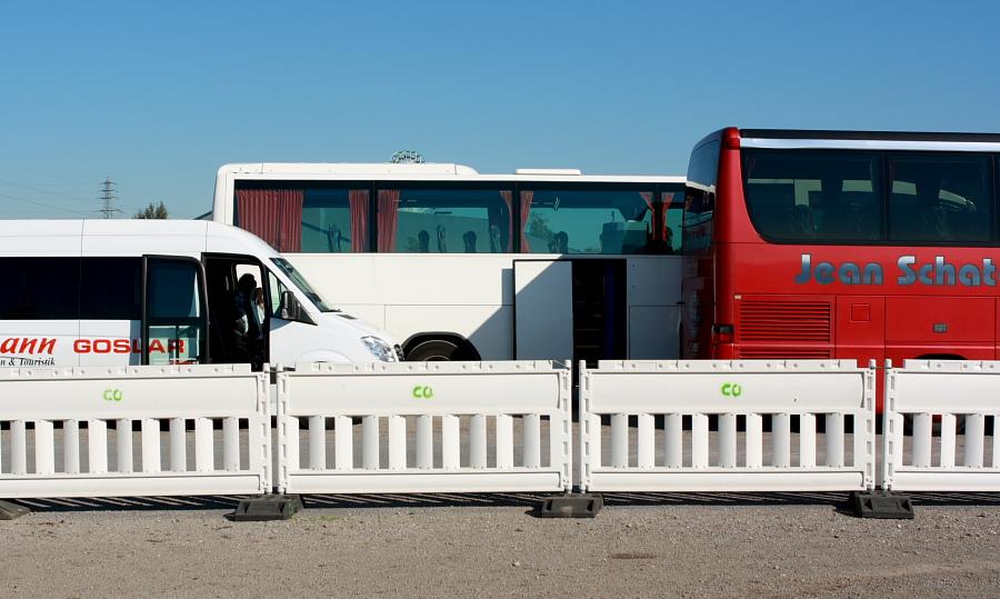Bus-Parkplatz