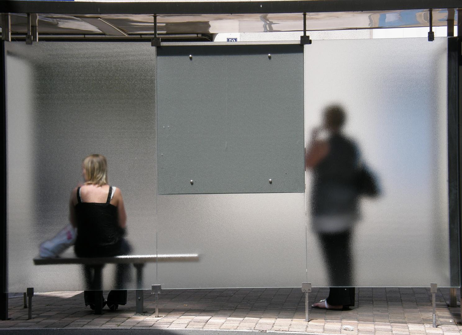 Bus stop serie - 3 -