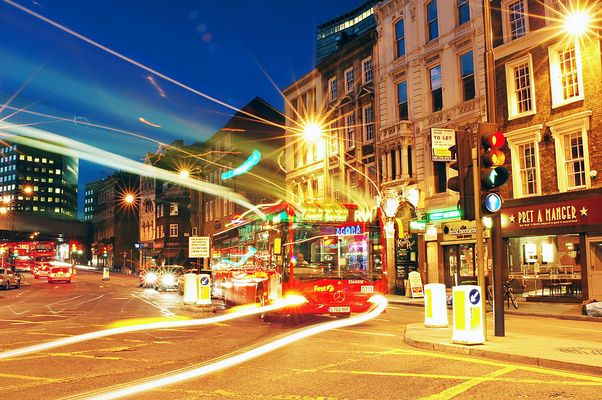 Bus to Covent Garden