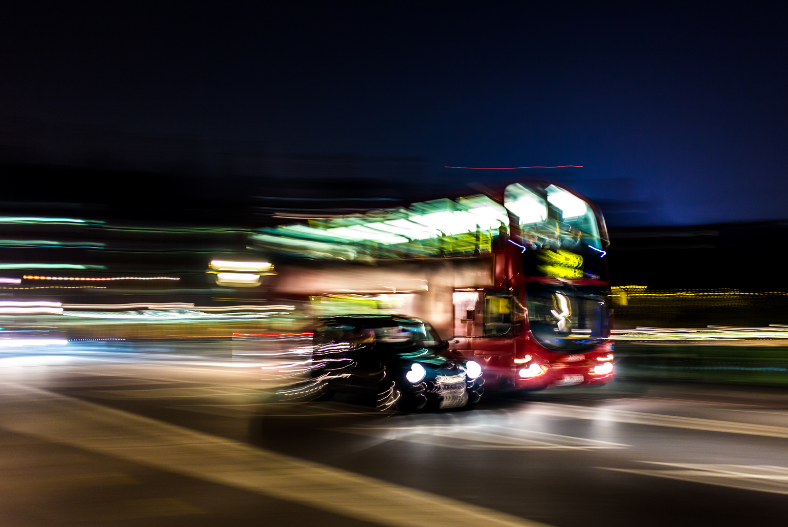 Bus vs. Taxi