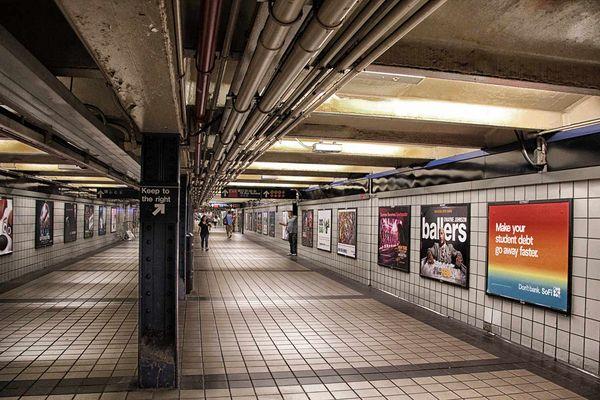 buscando el metro