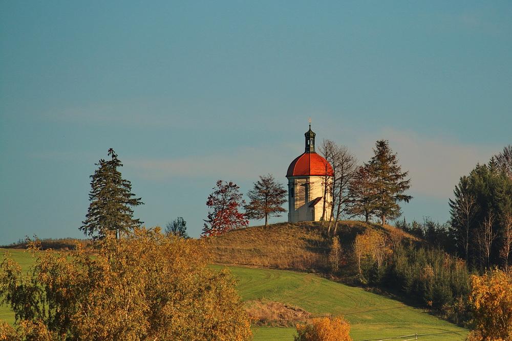 Buschelkapelle bei Ottobeuren im Herbst