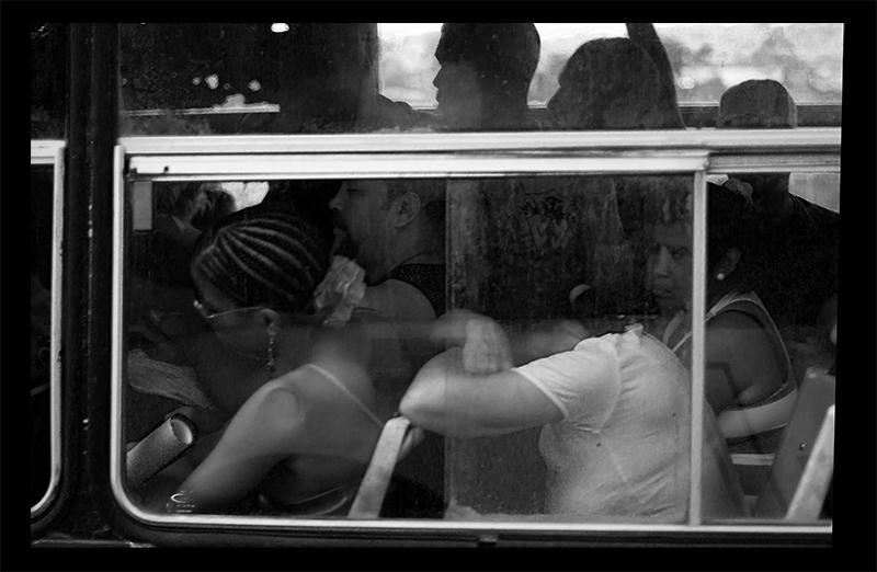 Busfahren auf kubanisch