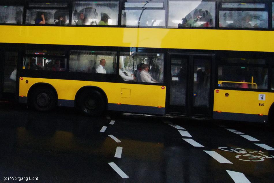 Busfahren in Berlin....