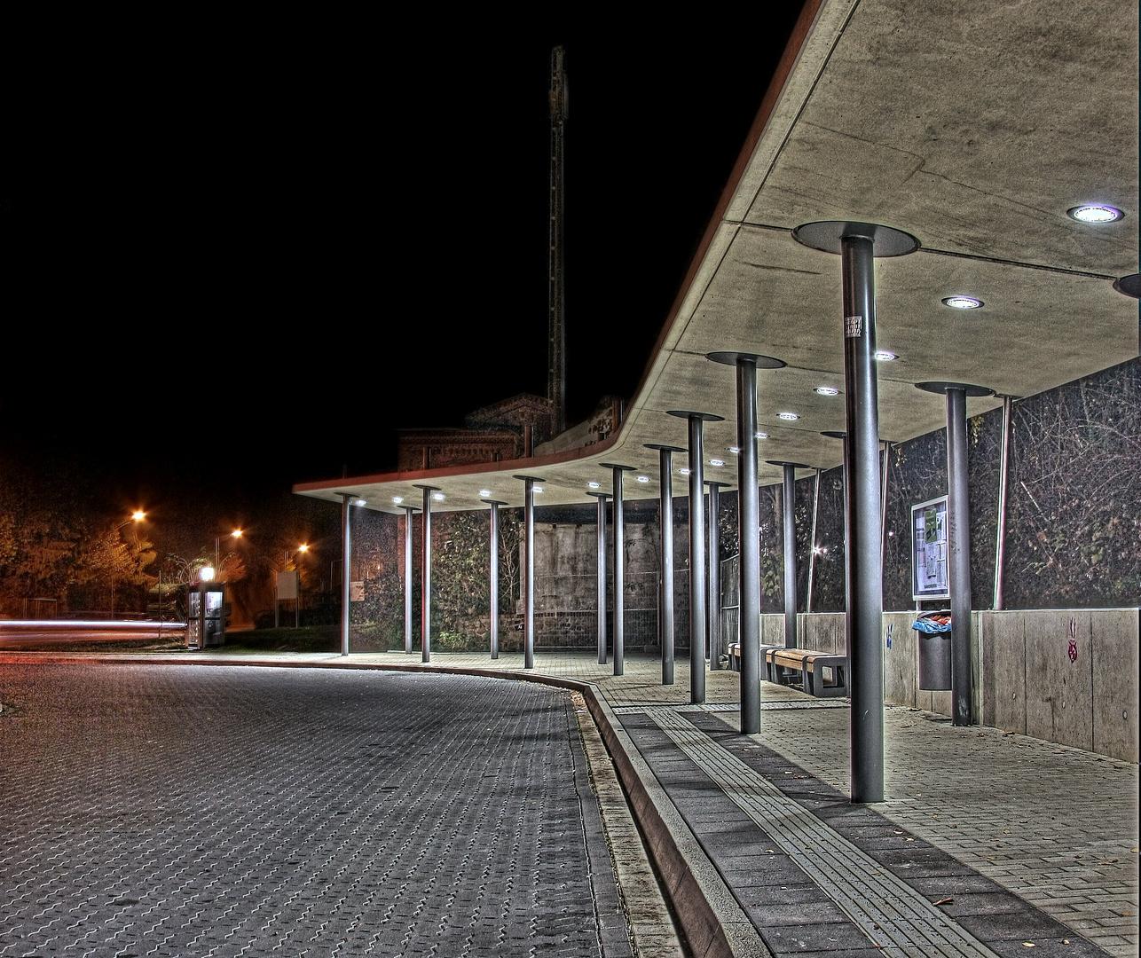 Bushaltestelle in Vlotho