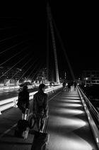 Business corssing Bridge