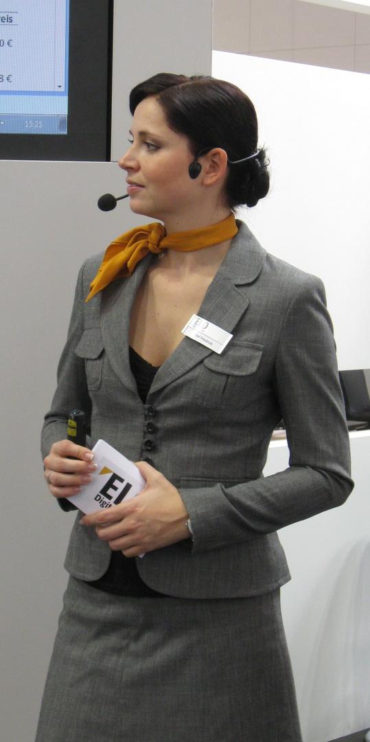Business Girl - CeBIT 2013