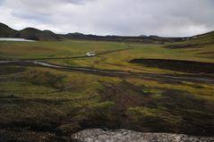 Bustour im Hochland Islands - auf dem Weg nach Landmannalaugar