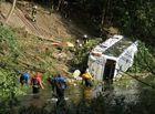 Busunglück in Radevormwald mit 5 Toten