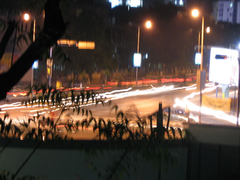 Busy Road In Ahmedabad (India)