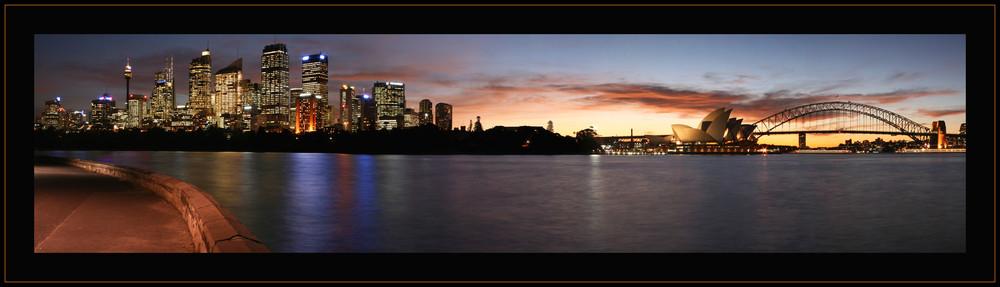 Busy Sydney