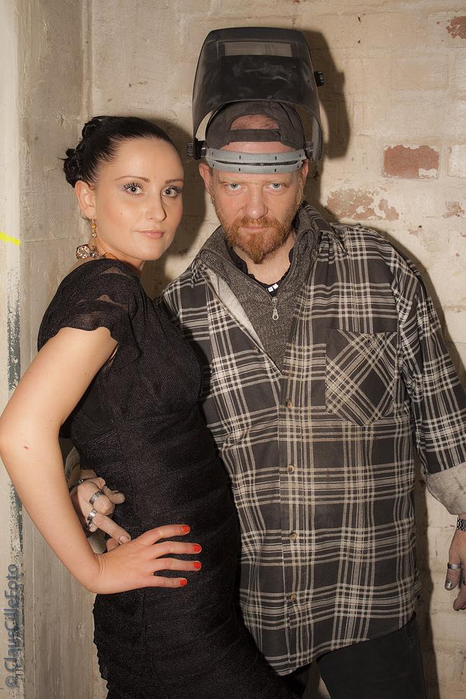 Butch nimmt gerne meine Models in den Arm...