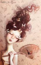 Butterflies in my head...