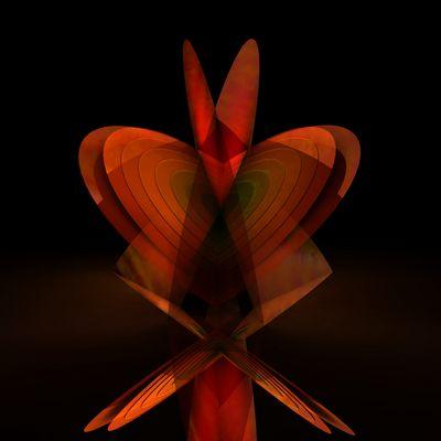 butterfly heart wallpaper