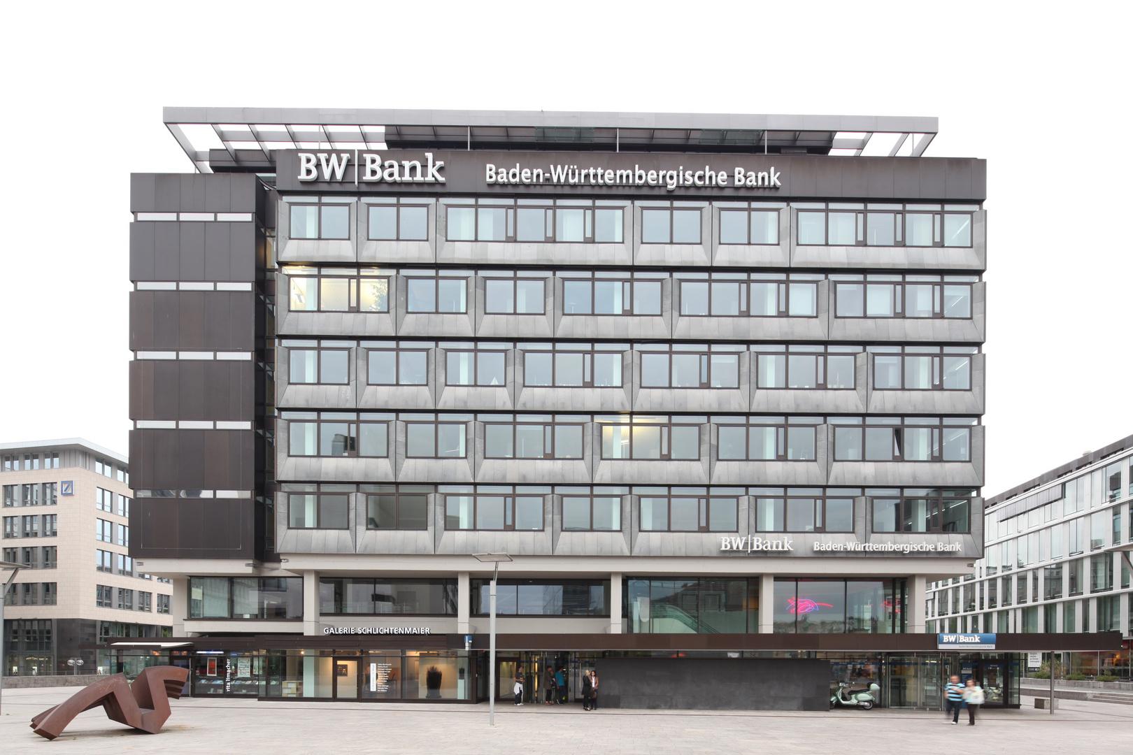 BW-Bank Stuttgart kleiner Schlossplatz