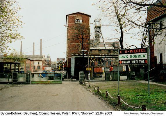 Bytom-Bobrek (Beuthen), Gorny Slask (Oberschlesien), Polen, KWK Bobrek, 2003