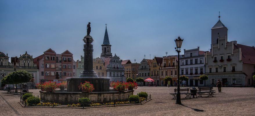 Bytom Odrzanski... #02 - Marktbrunnen