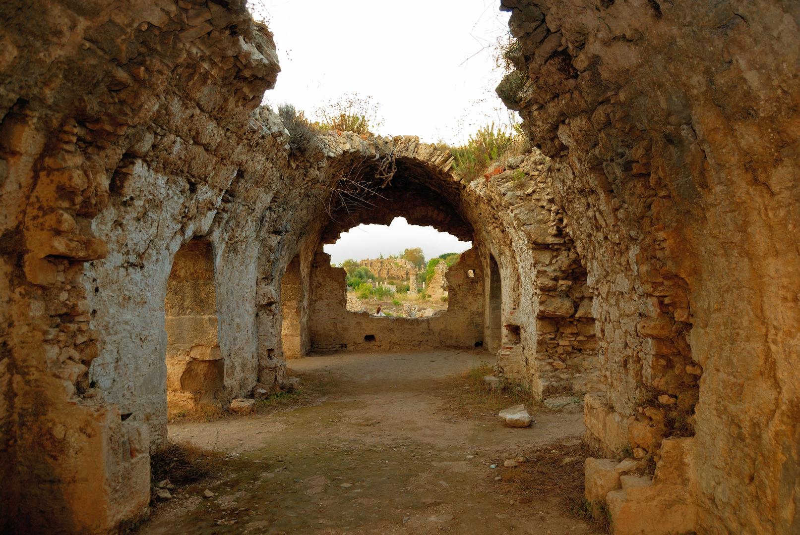 Byzantinisches Krankenhaus in Side (2)