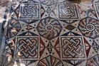 Byzantinisches Mosaik aus dem 5. Jh.