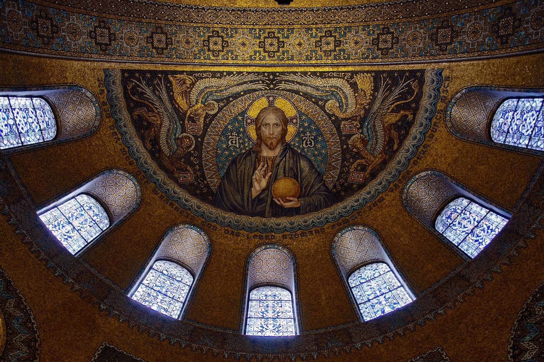 Byzantinisches Mosaik-Gewölbe