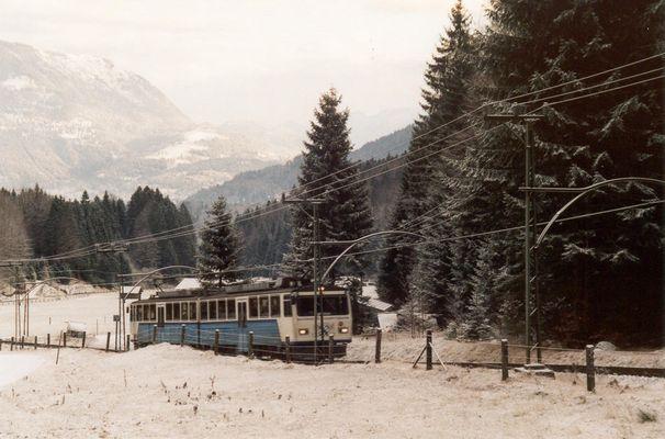 """BZB - """"Bayrische Zugspitz - Bahn"""""""