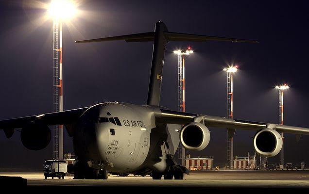 C-17@night