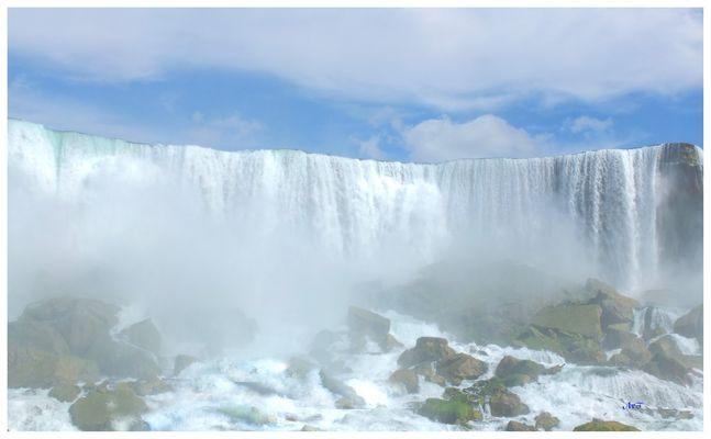 C comme chutes du Niagara