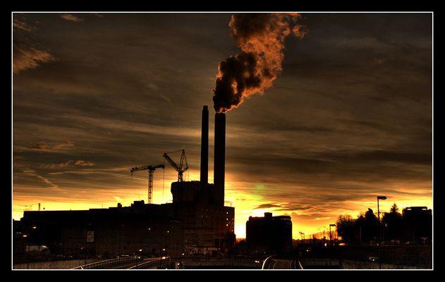 C est beau la pollution!!!