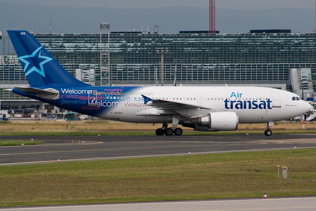 C-GTSH Air Transat Airbus A310-308 @ Frankfurt Airport