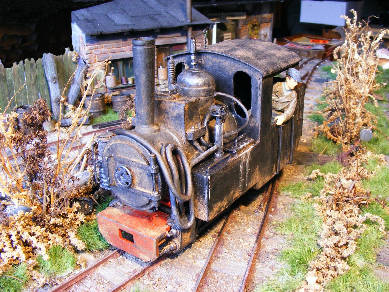 """C-Kuppler """"Lucy"""" (600mm Feldbahn, Maßstab 1:35)"""