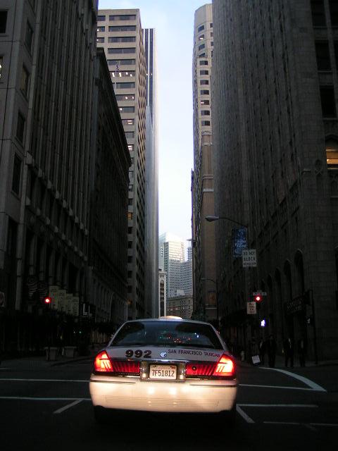Cab in S.F.
