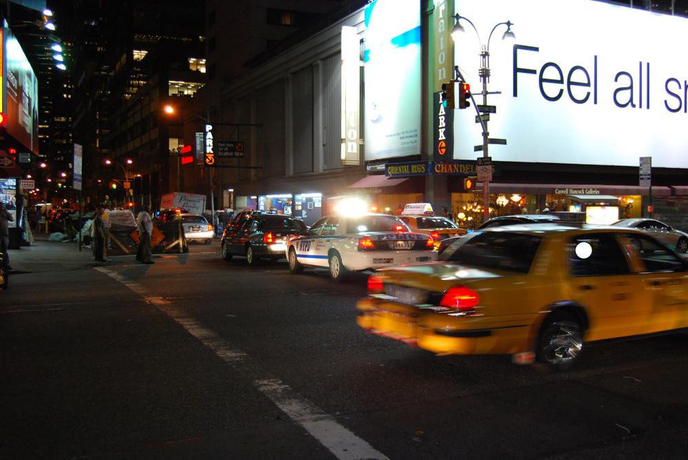 Cab meets Cop