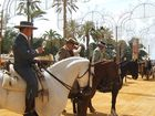 Caballos y jinetes Feria de Jerez de la Frontera
