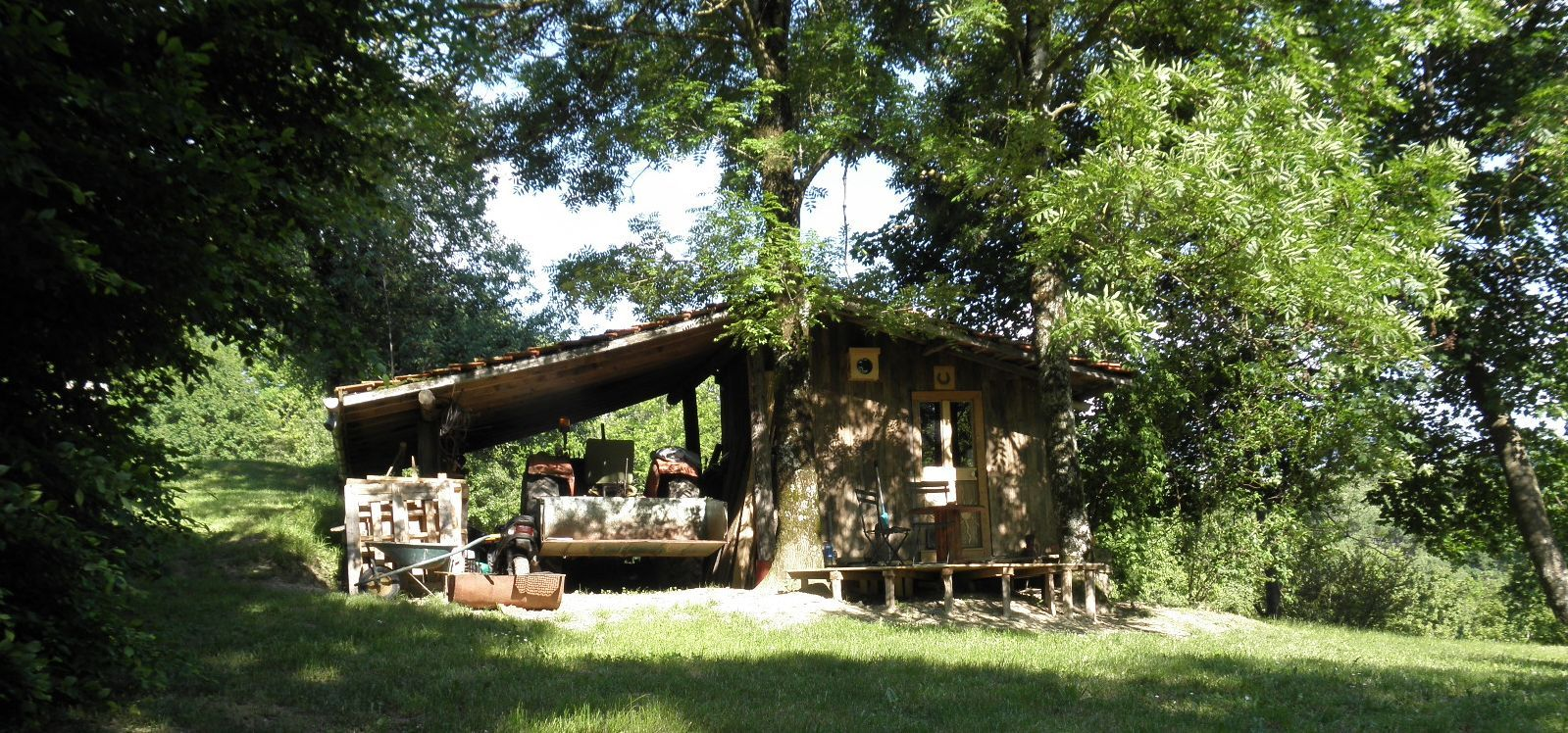 Cabane au Pichardon Drôme 26