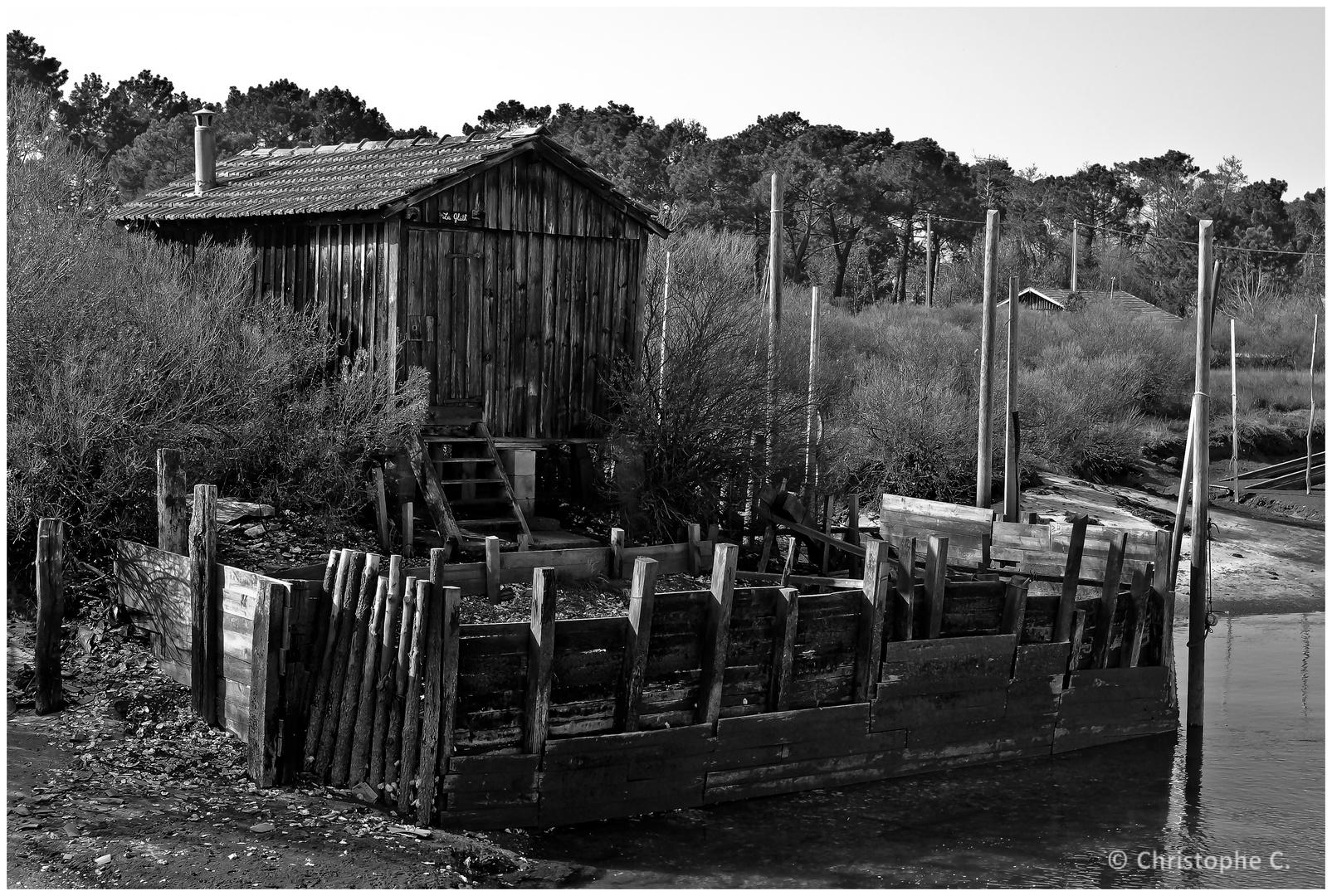 Cabane au Port de La Hume - Bassin d'Arcachon